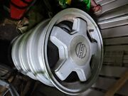 Set Of 4 Draco Rims With Center Caps For The Rwd Volvo Cars 200/700/900