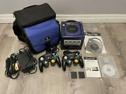 Nintendo Gamecube Pokemon Xd Skin Decal W/ Gameboy Player And Startup Disc Tested