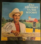The Ernest Tubb Story Signed Lp