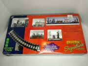 Lemax Spooky Town Signature Collection Rip Railroad Train Set - As-is