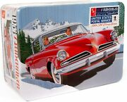 Amt 1953 Studebaker Starliner - Usps With Collectible Tin 125 Scale Model Kit
