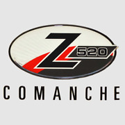 Ranger Boat Raised Decal | Comanche Z520 Silver Black Red