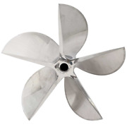 Hering Forged Boat Propeller 12372   Rh 17 X 38p 5 Blade Stainless