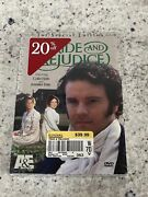 Pride And Prejudice Special Edition Dvd Set Mini-series, 2001 New/sealed