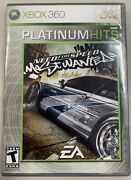 Need For Speed- Most Wanted Xbox 360