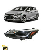 2016-2019 Chevrolet Cruze Driver Side Halogen Headlight With Led D.r.l Lh
