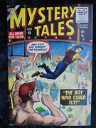 Mystery Tales 30 Scarce Circus Cover 1955 Atlas Golden Age Horror Comic