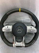 Mercedes Amg Steering Wheel -carbon- For All Pre-facelift Models With Adapter