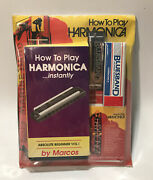 How To Play Harmonica Instantly Absolute Beginner Vol 1 By Marcos Sealed Package