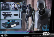 Hot Toys Star Wars Rogue One K-2so Action Figure Free Shipping