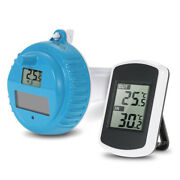 Ip67 Solar Powered Floating Water Temp Monitor Thermometer Fr Swimming Pool Y0e2