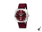 Briston Clubmaster Iconic Automatic Watch Red 40 Mm 19640.ps.i.8.nbdx