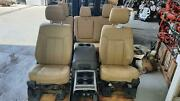 2011-2016 Ford F250 F350 Super Duty Front/rear Leather Seat Set W/bag W/console