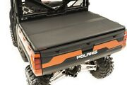 Rough Country Hard Folding Bed Cover For 13-21 Polaris Ranger W/o Lock -