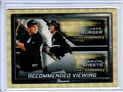 Jake Burger Gavin Sheets 2017 Bowman Chrome Recommended Viewing Superfractor 1/1