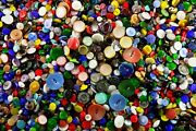 Vintage Glass Buttons 7000 Pieces, Size - 9mm, 13mm, 18mm, 23mm, 32mm - 4