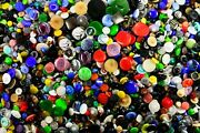 Vintage Glass Buttons 7000 Pieces, Size - 9mm, 13mm, 18mm, 23mm, 32mm - 5