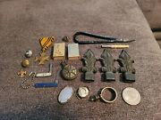 Vintage Antique Junk Drawer Lot - Pins Military Jewelry