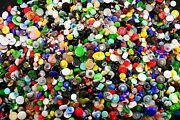 Vintage Glass Buttons 4000 Pieces, Size - 9mm, 13mm, 18mm, 23mm - 6
