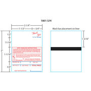 Hobart Labels 1801-s/h For Sp-80/sp-1500 Style 1 Red/blue 16x, 750 Labels/roll