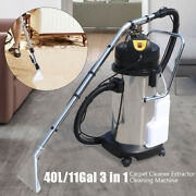 40l110v Portable Carpet Cleaning Machine Vacuum Cleaner Dust Extractor Collector
