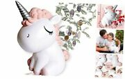 Unicorn Piggy Banks For Girls Coin Bank Gifts For Boys Large Piggy Bank For