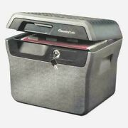 Sentrysafe Fhw40100 Fire-resistant And Waterproof File Safe Box With Key Lock