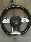 Mercedes Amg Steering Wheel -piano- For All Pre-facelift Models With Adapter