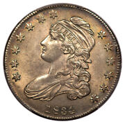 1834 50c Small Date Small Letters O-120 Capped Bust Half Dollar Pcgs Ms63