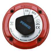 Perko Boat Battery Disconnect Switch 9601 | 250 Amp 6 To 32 Volt