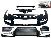 For 2020-2021 Toyota Corolla Front Bumper Cover Grille Molding Drl Fog Complete