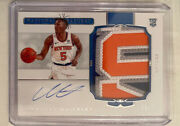 2020-21 National Treasures Immanuel Quickley Rpa Rookie Patch Auto 59/75 Knicks