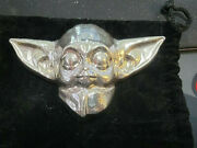 Pit Bullion Baby Yoda 21.3 Troy Ounce - .999 Silver - Hand Poured Star Wars