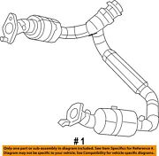 Ram Chrysler Oem 13-18 1500-exhaust System-catalytic Converter And Pipe 68273127aa