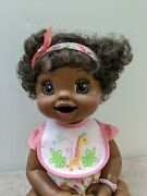 Rare African Baby Alive Doll Interactive Learn To Potty.