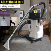 40l Portable Carpet Cleaning Machine Vacuum Cleaner Extractor 1034w 110v Us