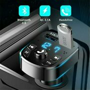 Hot Sale 1car Bluetooth Fm Transmitter Fit For Most Of The Smartphones, Tablet