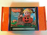 New In Box Fisher-price Little People Halloween Eddie 77627 Spooky Sounds 2002
