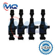 Pack Of 4 Ignition Coils For Chevy Cobalt Equinox Hhr Buick Regal Uf491 C1552