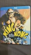 King Kong 1933 Blu-ray Disc Digibook 2010 Sealed Plz Refer To Pics