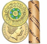 2017 2 Official Ram Roll Remembrance Day 25 X Coloured Circulating Coins
