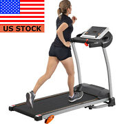 Folding Treadmill For Home Portable Motorized Walking And Running Exercise Machine