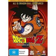 Dragon Ball Z Remastered Movie Collection Dvd | Anime | 7 Discs | Region 4
