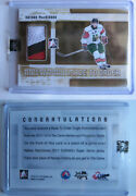 2011-12 Itg Heroes And Prospects Nathan Mackinnon 1/1 Made To Order 1 Of 1 Rc