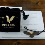Tady And King Medium Eagle Head 18k Gold Necklace Pendant F/s From Japan