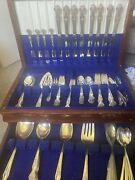 1881 Original Rogers Extra Silver Plate Silverware With Box 64 Pieces + 39 Extra