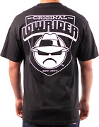 Lowrider Clothing Crest T-shirt Chicano Culture Hustler
