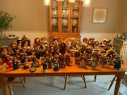 Lizzie High Huge Lot Of Dolls And Resin