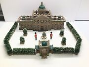 Dept 56 Ramsford Palace Limited Edition Lighted Building Handpainted Porcelain