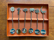 Handmade Susan Slee Plim Stainless Steel Spoons Made In South Africa Animals